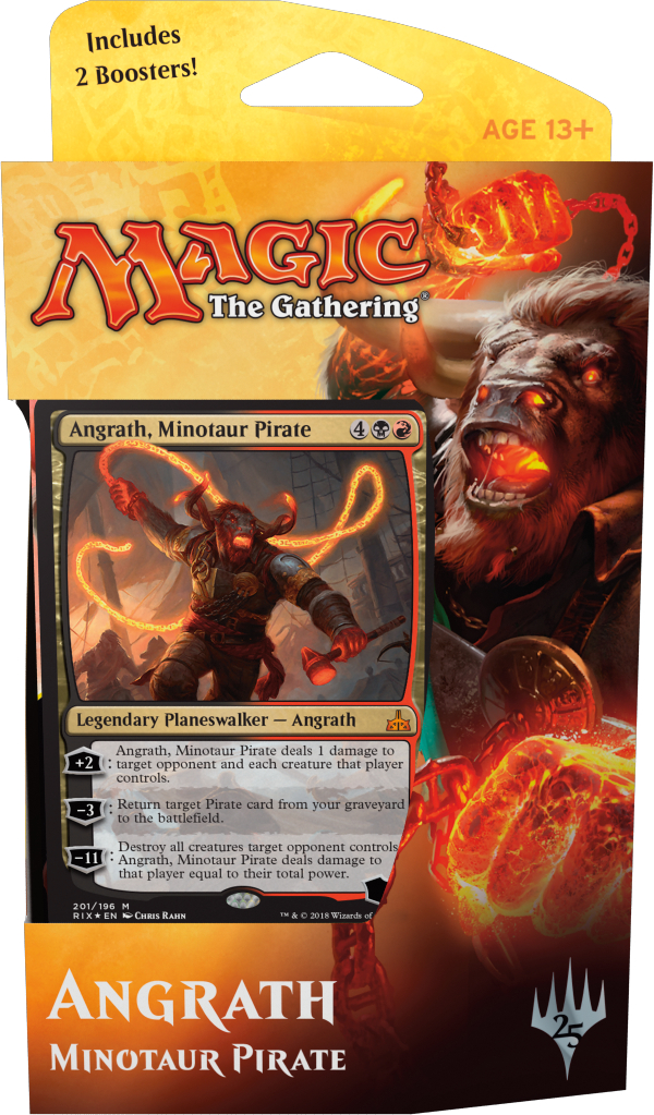 MTG Rivals of Ixalan Planeswalker Deck: Angrath, Minotaur Pirate